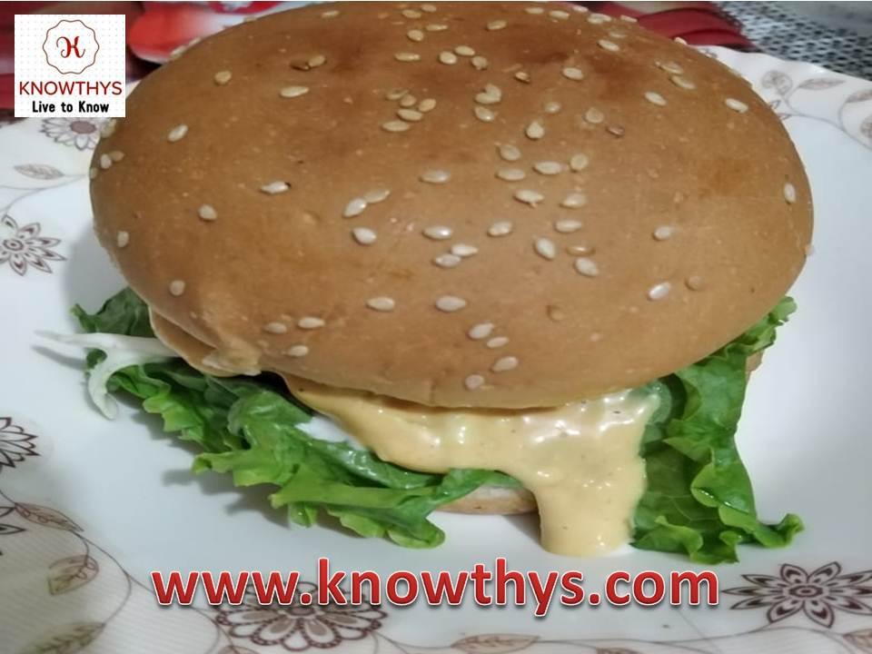 Restaurant Style Burger