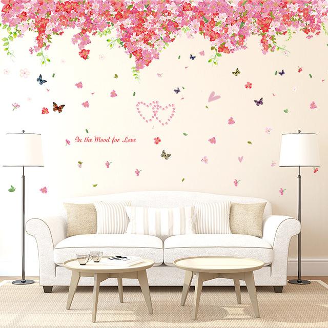 ورق جدران غرف نوم ثلاثي الأبعاد بأشكال متنوعة و جذابة ديكورموز