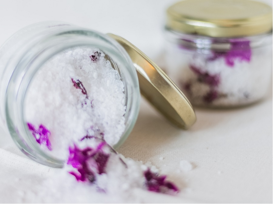 Image, jar of bath salts