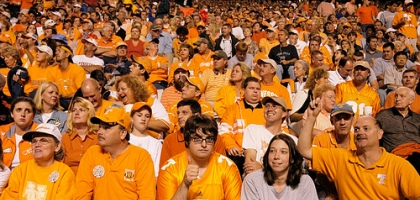 "<span class=""caps"" data-recalc-dims=""1"">UT</span> Vols Basketball&#8217; /></p> <p>I stood up last night after watching most of the UT basketball game and said&#8230;I have had enough!  I walked out of Casey&#8217;s house without saying a word, disappointed. </p> <p>I told him this morning that when I walked out of his apartment with around 4 min. remaining, I spotted 5 other men walking around flailing their hands in the air and cursing. I find it ironic that so many people felt the same way and basically acted in the same manner. </p> <p>It was a great year for the Vols, but let&#8217;s be honest:</p> <p class=""question"">As a Knoxvillian, how did you react when you found out the Vols would again not make it to the Elite 8?</p> <p><em>Photography by <a href=""http://www.flickr.com/photos/34725795@N00/140080727/"">pierre lascott</a></em></p>  <div id="