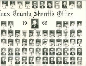 Poster of the KCSO officers in 1968