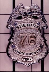 Old sheriff badge