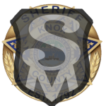 KCSO badge with Safetyman emblem overlay
