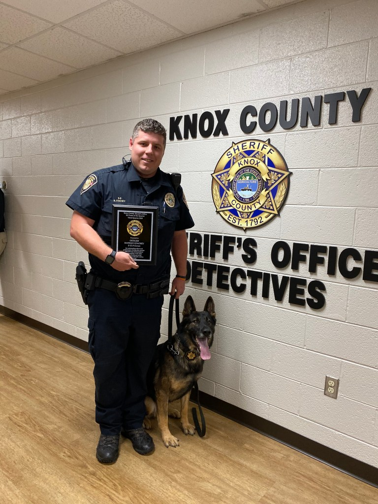 KCSO K9 with handler