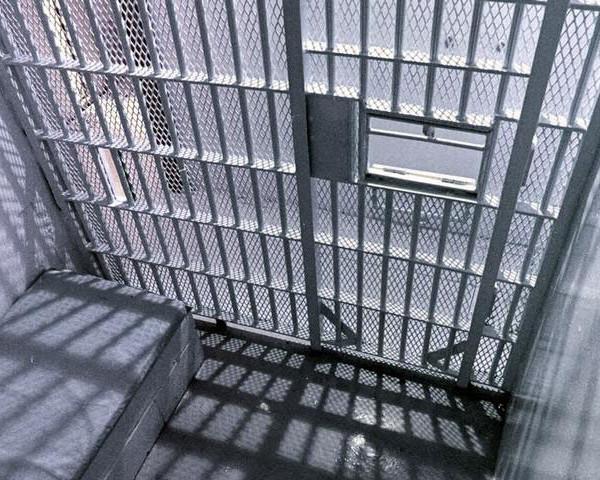 Inside of jail cell
