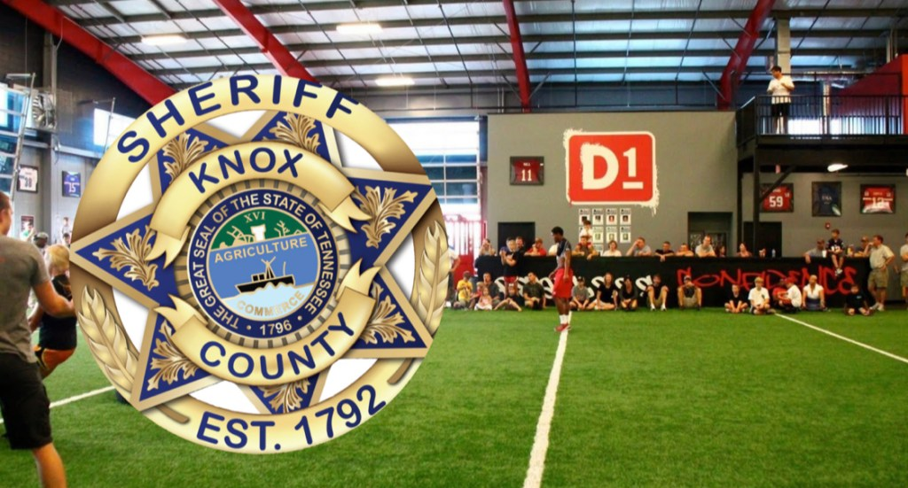 KCSO Badge overlay D1 Training facility room
