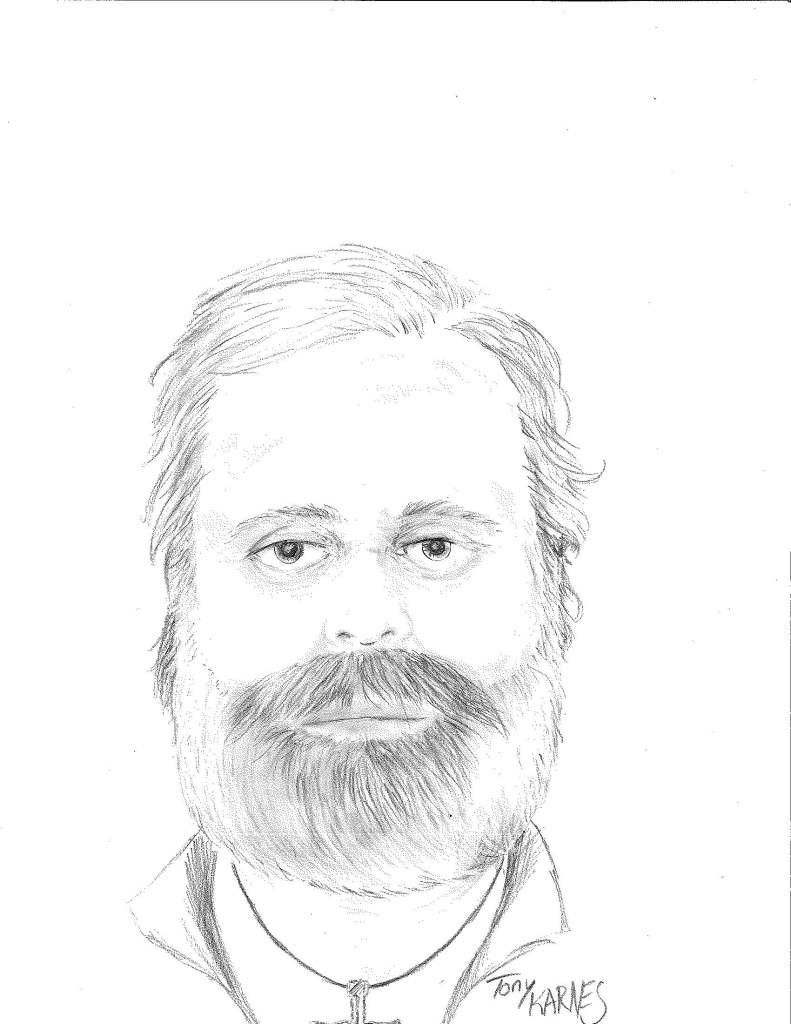 Artist rendition of unidentified male