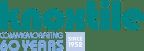 knoxtile logo 60 years