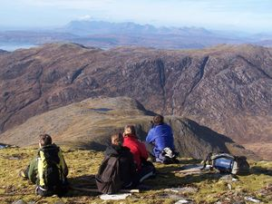 Acessing the land of Knoydart