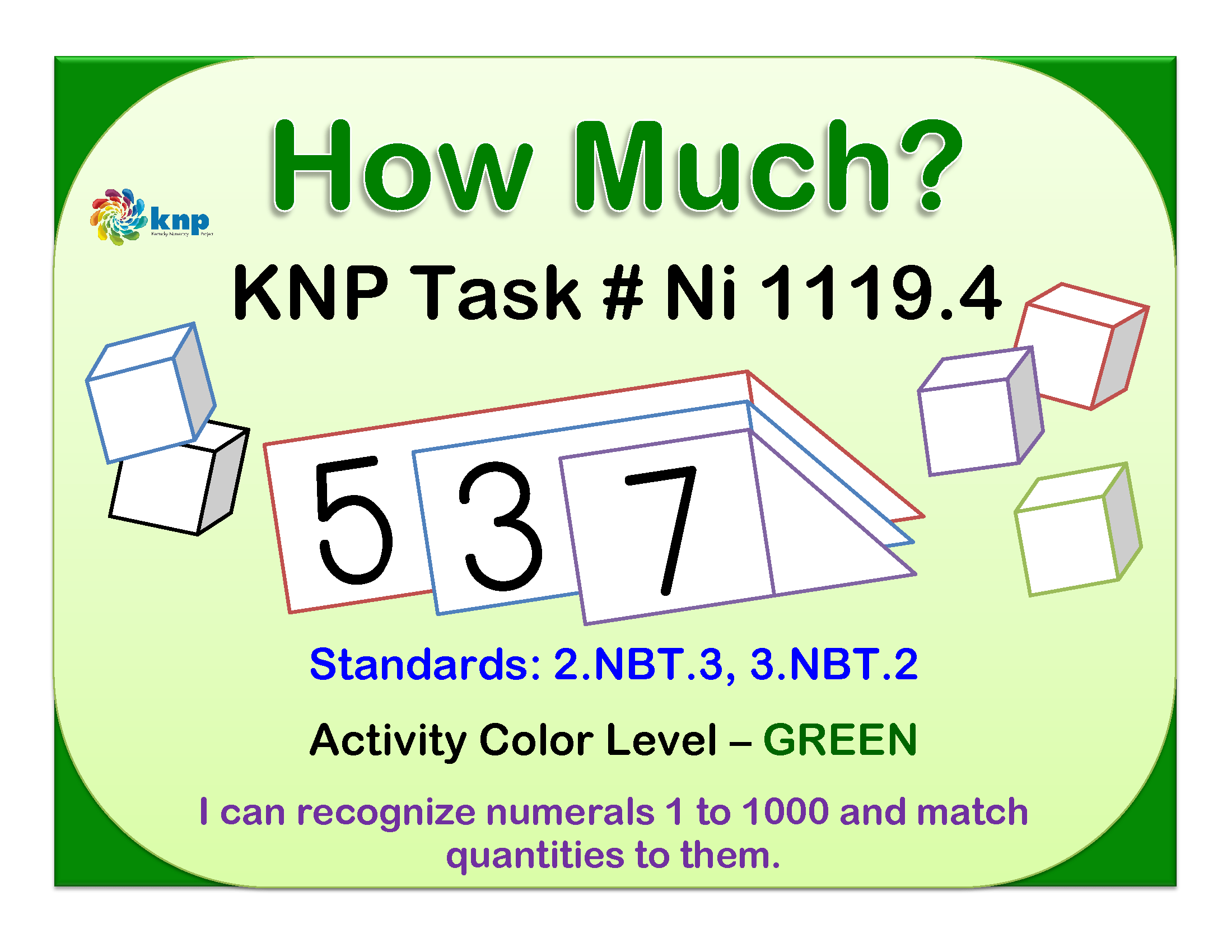 Knp Kentucky Numeracy Project