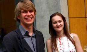 Prezesi KNSA: Adam Lokś oraz Magdalena Rybska