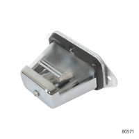 CHROME LICENSE PLATE LAMPS | 80571