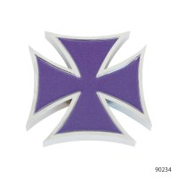 IRON CROSS ACCENTS WITH STICKER   90244