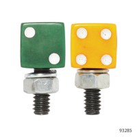 DICE SHAPED LICENSE PLATE BOLTS | 93285