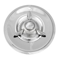 15″ Chrome & Stainless Nomad Hubcap   KC6040