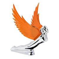 Chrome Flying Goddess Hood Ornament | 48106