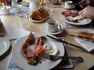 Frühstück auf Skye