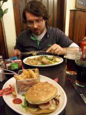 Essen im The Isle Inn in Portree, Skye