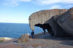 Tomus am Eagle Rock. Sehr remarkable dieser Rock