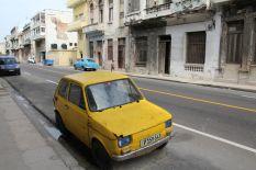 Ein glorreicher polski Fiat passt wunderbar in die Hauptstadt der kommunistischen Brüder