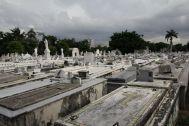 Ein Blick über die vielen Gräber