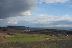Wie immer ist die Aussicht bei gutem Wetter an fast allen Stellen in Island einfach nur großartig. Schade, dass die Sonne uns nur so selten einen Besuch abstattet