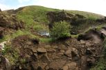 Blick aus dem Höhleneingang