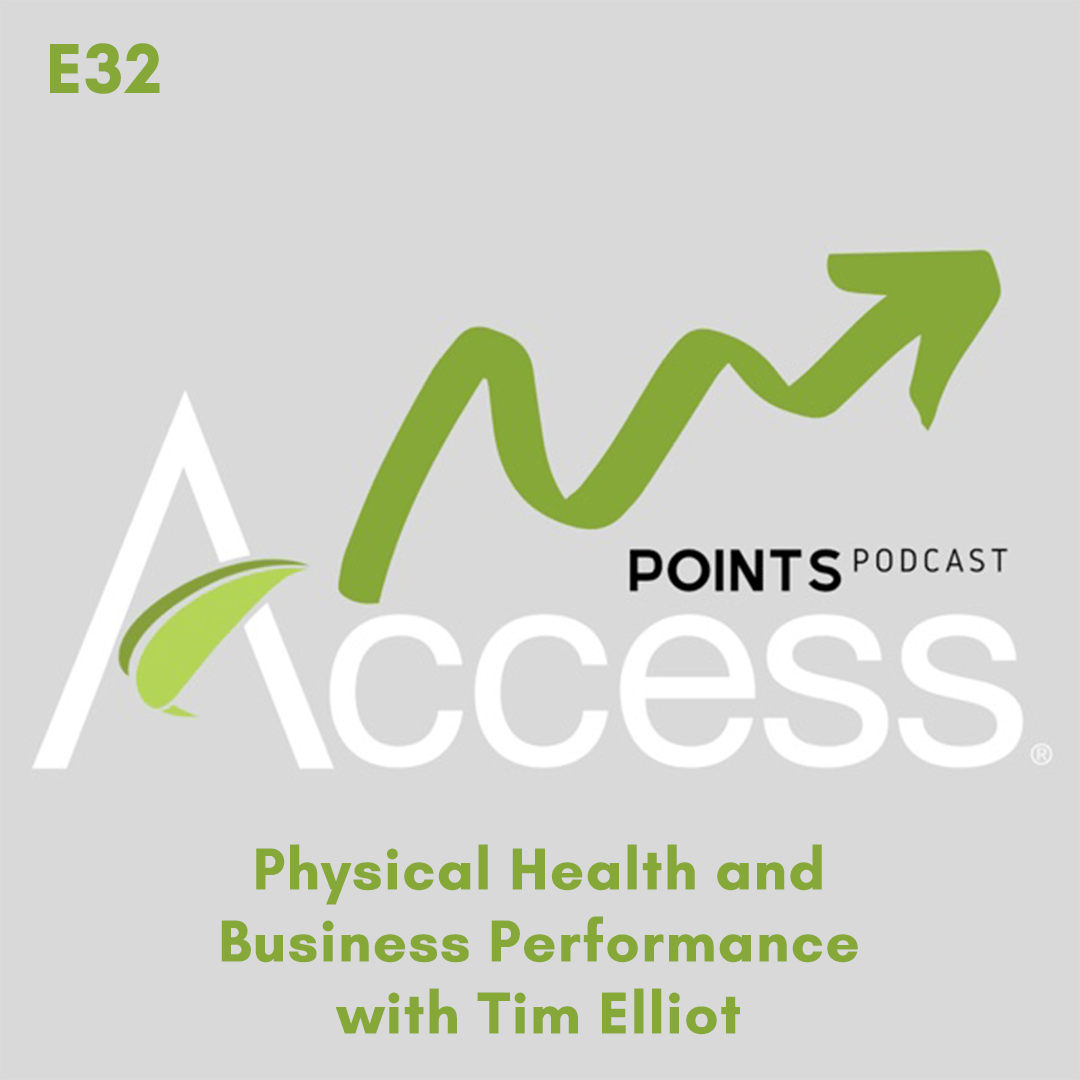 Access Points Podcast: Ep 32 – Physical Health and Business Performance with Tim Elliot