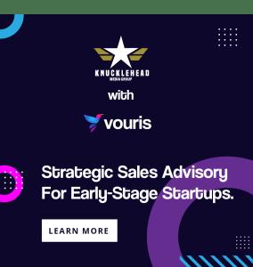 Knucklehead Media Group set for new network sponsor – sales advisory firm Vouris