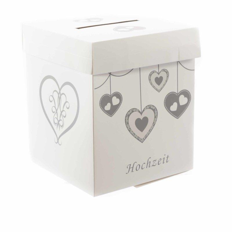 Magische Geldgeschenkbox Zur Hochzeit Motiv Herzen Von Gravado