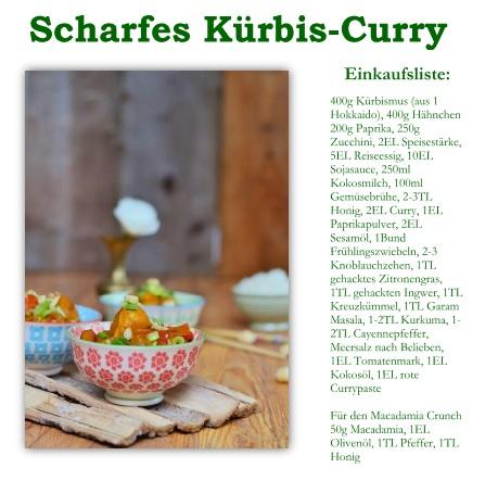 Curry Rezept