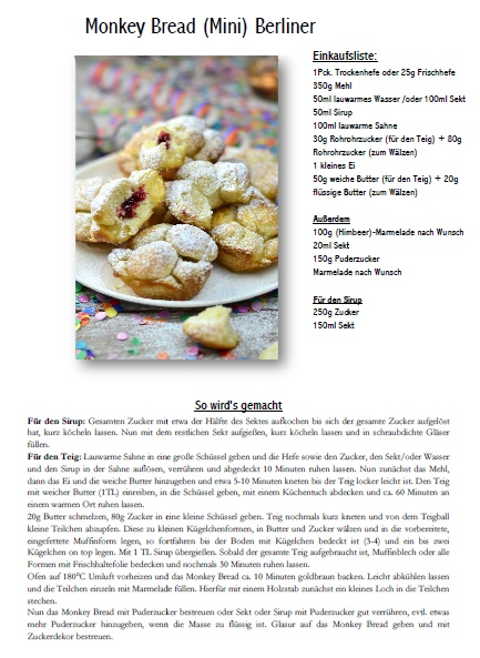 Monkey Bread Rezept