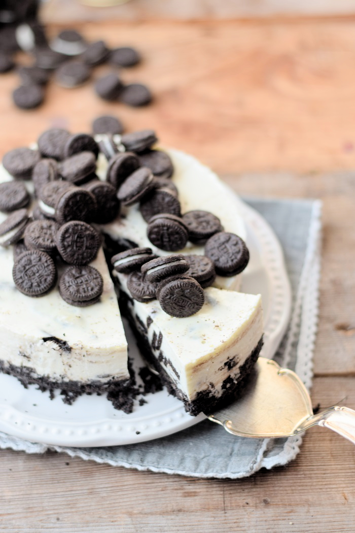 Oreo No Bake Cheesecake 11