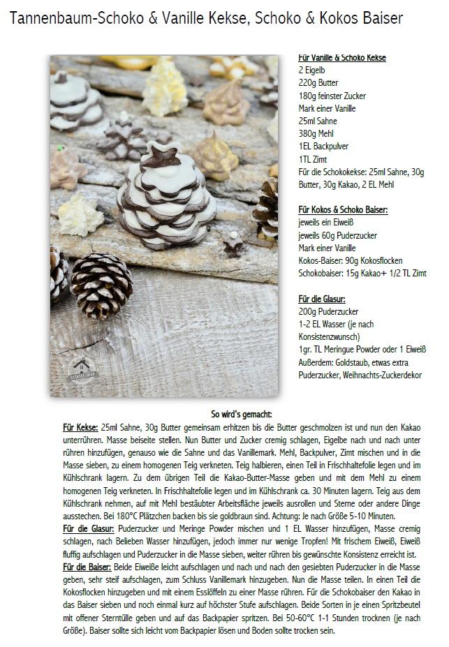 Winterwald Plätzchen Rezept