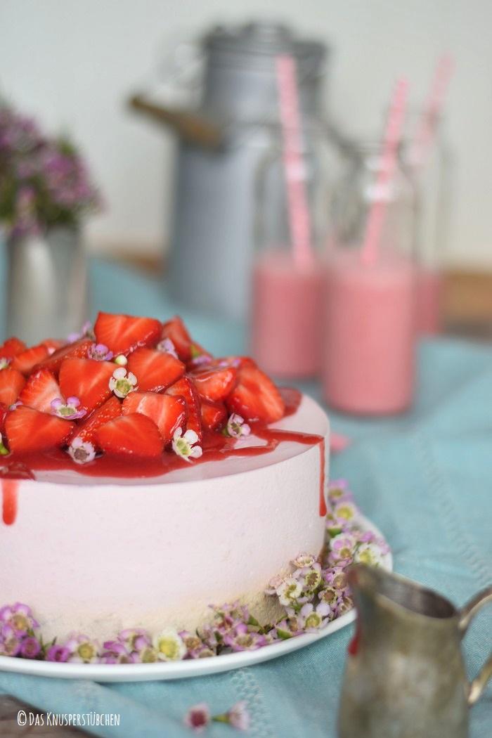 Erdbeershake Torte 37