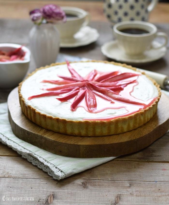 Roasted Rhubarb Tarte 1
