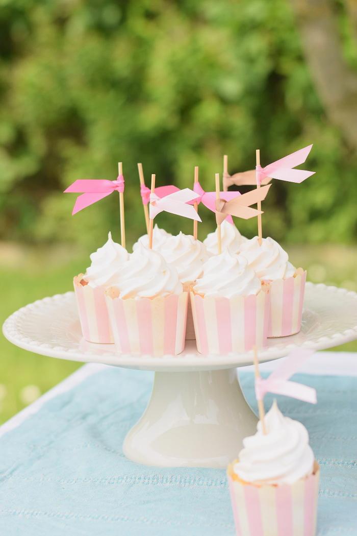 Zitronen Baiser Cupcakes