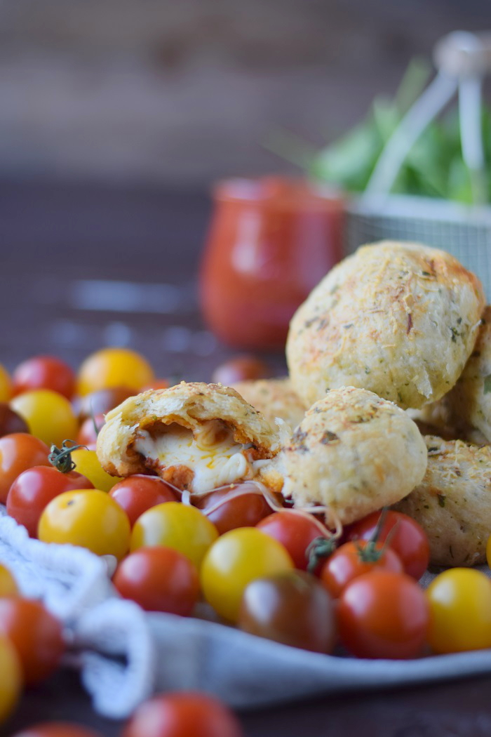 BBQ Broetchen - BBQ Rolls filled with Cheese and tomato sauce 14