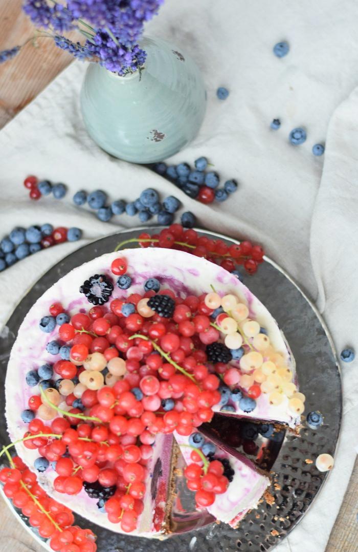 Very Berry Joghurt Cheesecake 23
