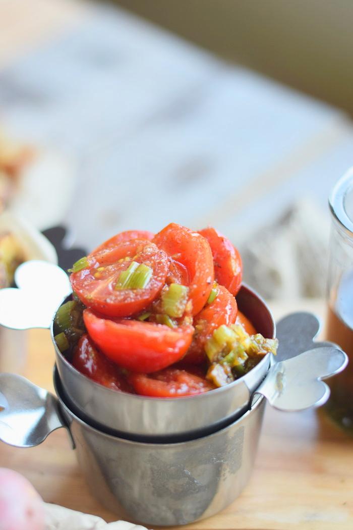 Ofenkartoffeln mit karamellisierten Tomaten 20
