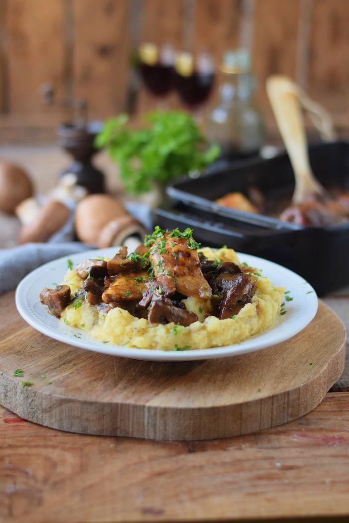 Madeira Chicken mit Kartoffelbrei (3)