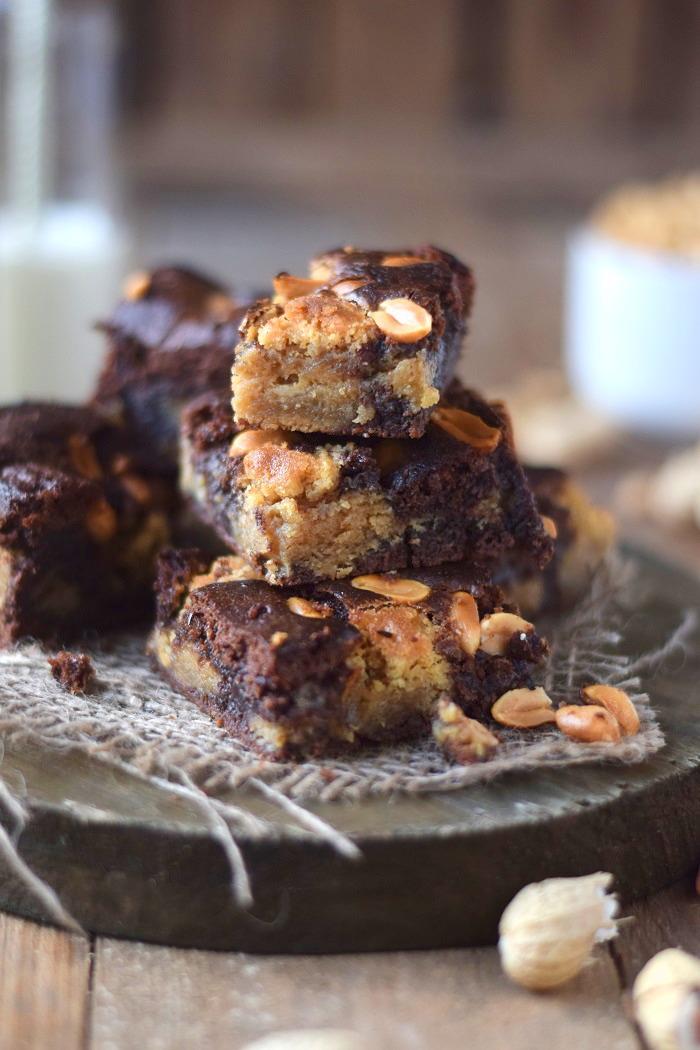 Peanutbutter Cookie Brownies (6)