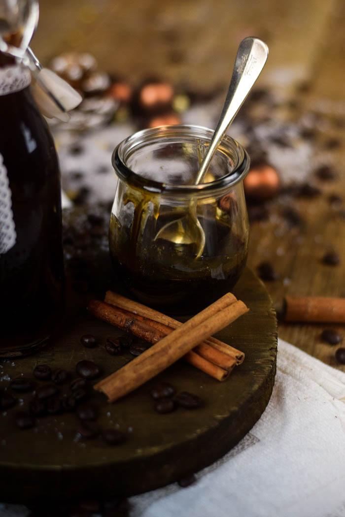 Tirmaisu Cheesecake Charlotte - Kaffee Kuchen mit Löffelbiskuit und Kaffeelikör (6)