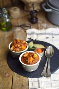 Bauerntopf - Tomaten Kartoffel Topf mit Hackfleisch - Minced Meat Tomato Stew with Potatoes and red pepper (6)