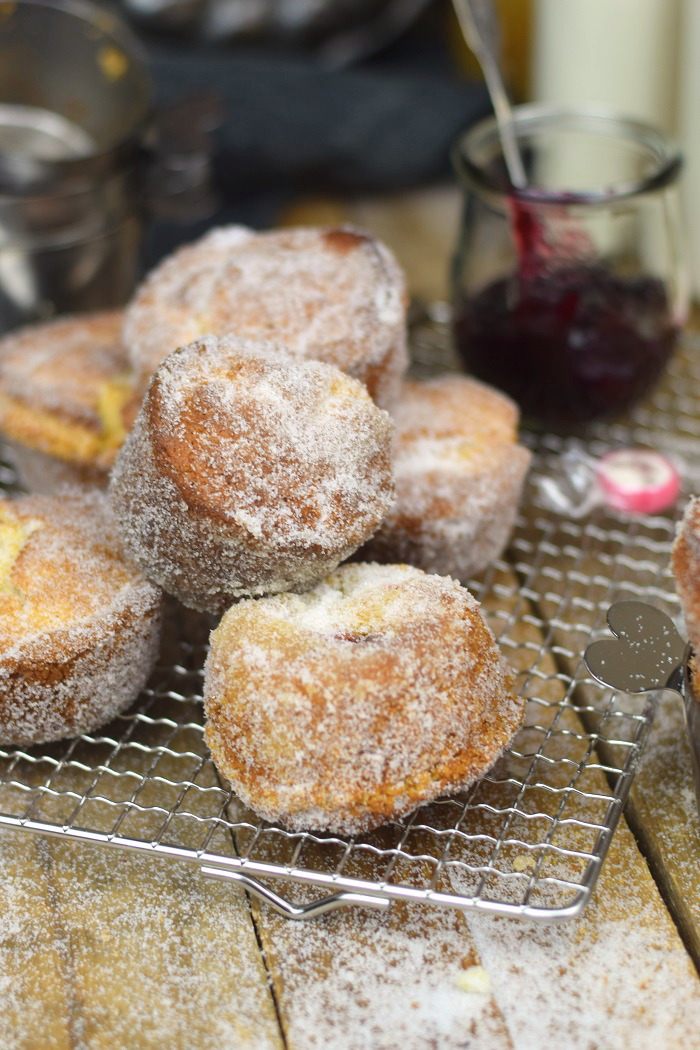 Muffnuts - Muffin Berliner - Muffin Dounts filled with Jam (7)