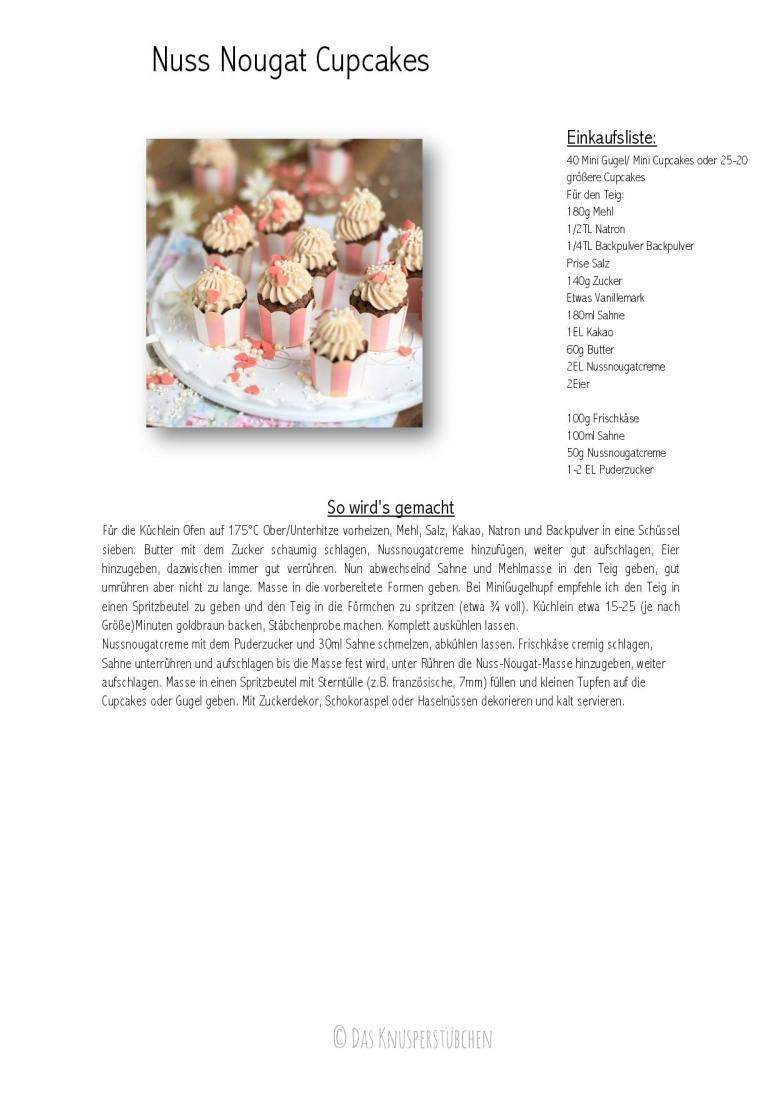 Nuss Nougat Cupcakes Rezept-001
