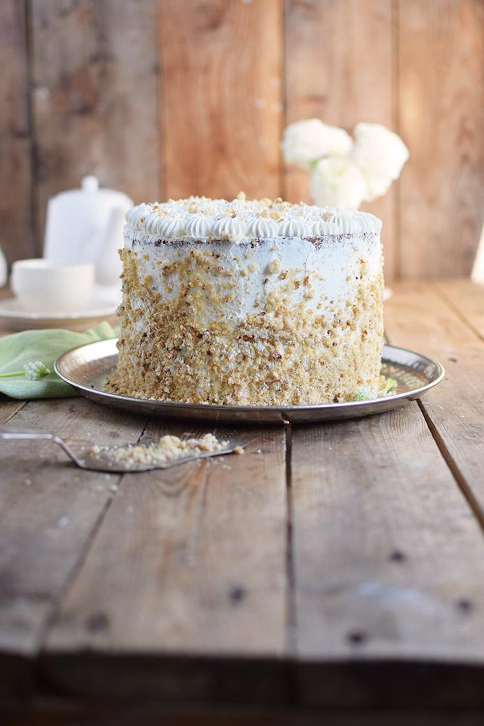 Marzipan-Krokant-Beeren-Torte - Marzipan Crunch Berry Cake (18)
