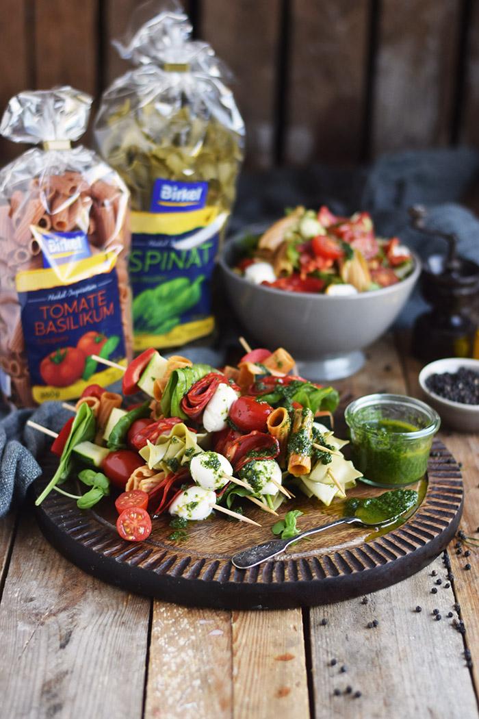 Pasta Salat Spiesse - Pasta Salad Skewers (27)