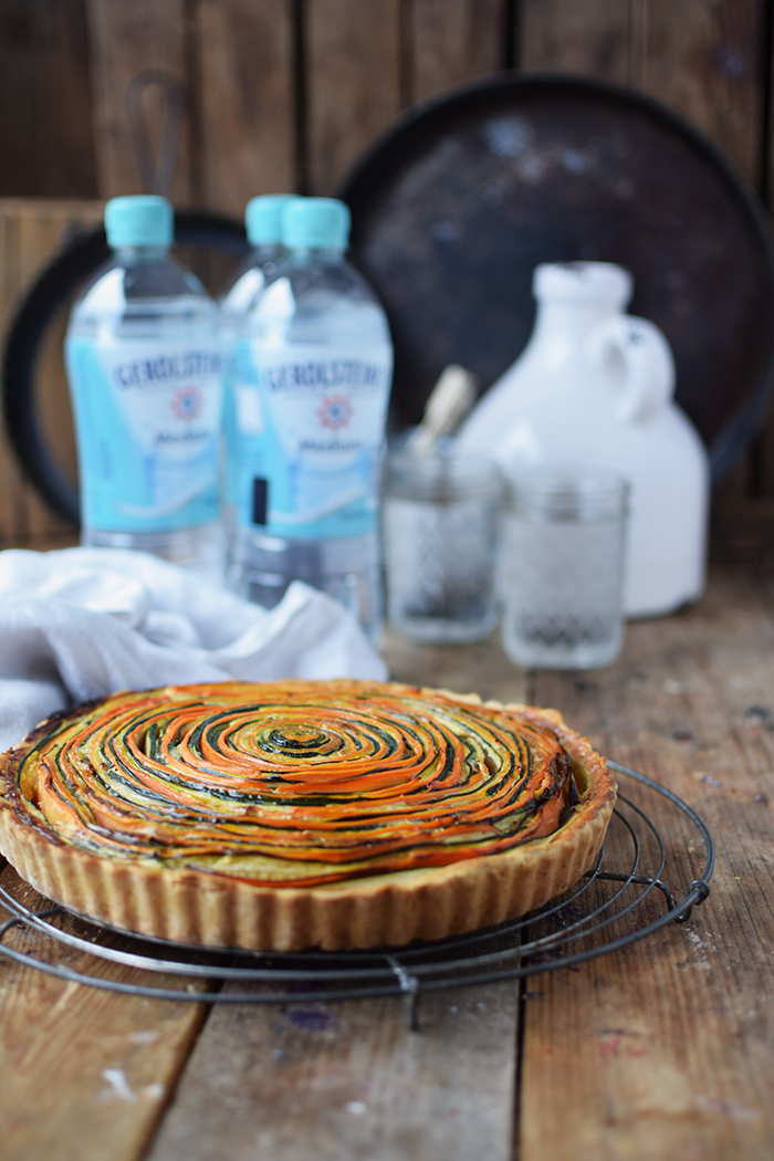 Gemuese Spiral Tarte - Vegetable Spiral Tart (5)
