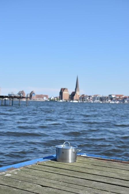 Silhouette von Rostock